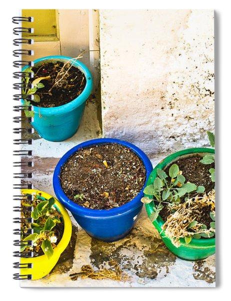 Plant Pots Spiral Notebook