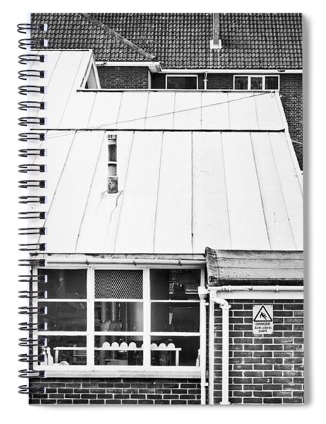 Red Brick Buildings Spiral Notebook