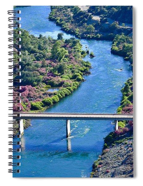 Shasta Dam Spillway Spiral Notebook