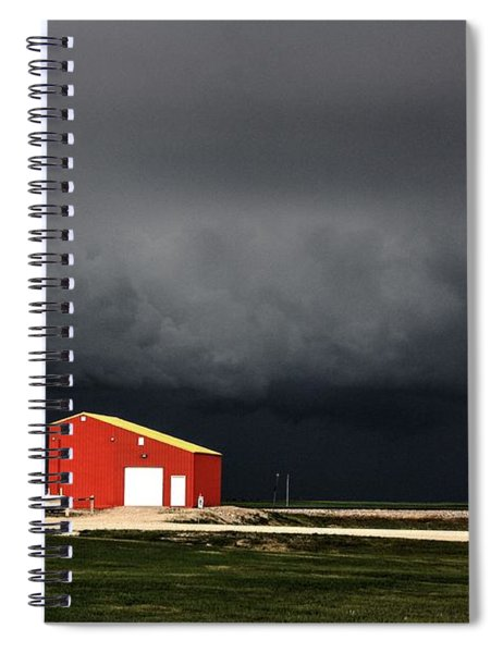 Storm Brewing  Spiral Notebook