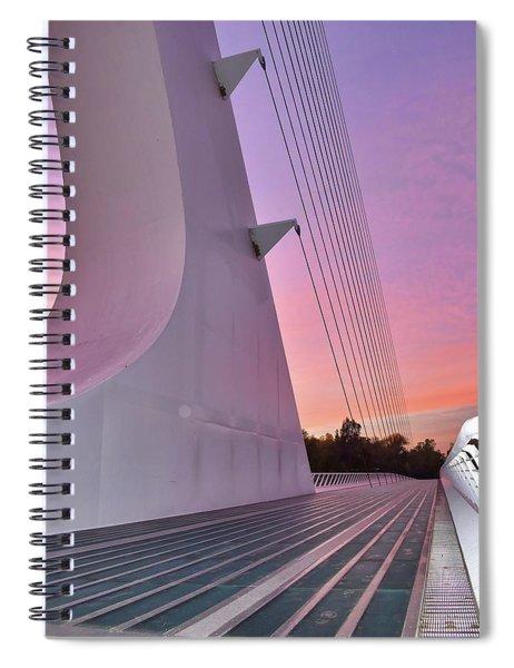 Sundial Bridge Spiral Notebook