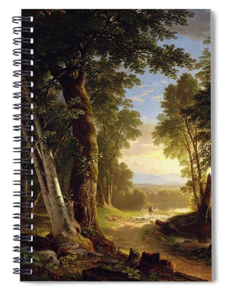 The Beeches Spiral Notebook