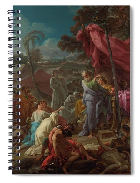 The Brazen Serpent Spiral Notebook