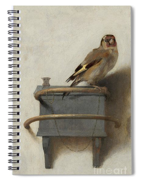The Goldfinch Spiral Notebook