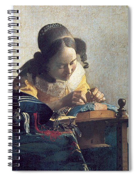 The Lacemaker Spiral Notebook