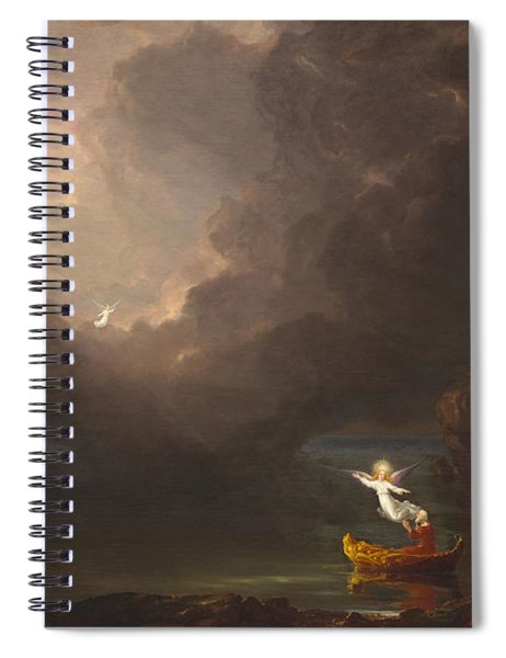 The Voyage Of Life Old Age Spiral Notebook