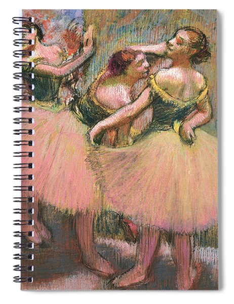 Three Dancers Spiral Notebook