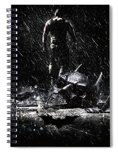 The Dark Knight Rises 2012  Spiral Notebook