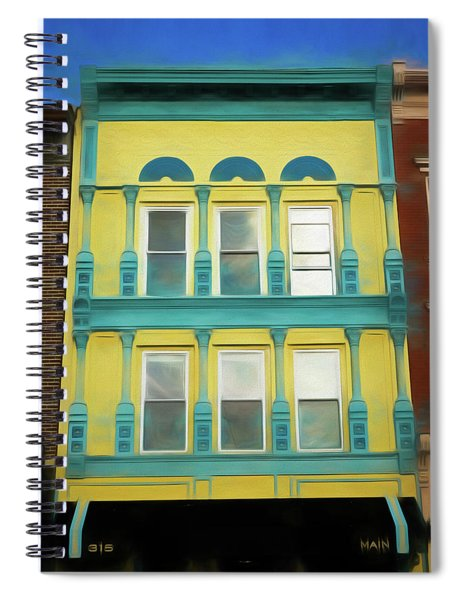 315 Main  Spiral Notebook
