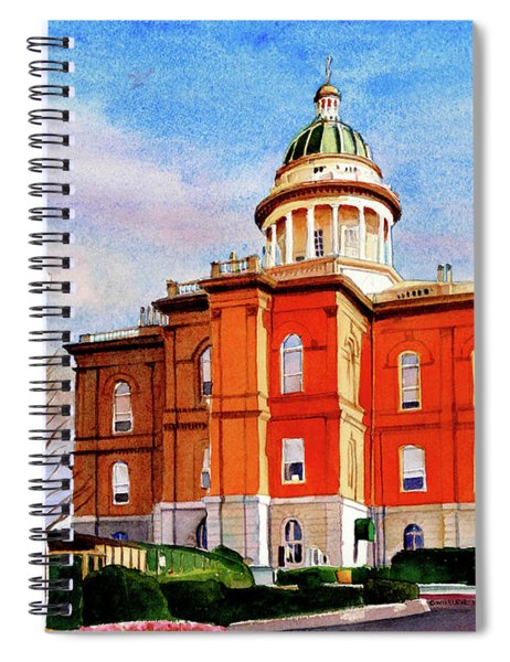 #317 Placer County Courthouse Spiral Notebook