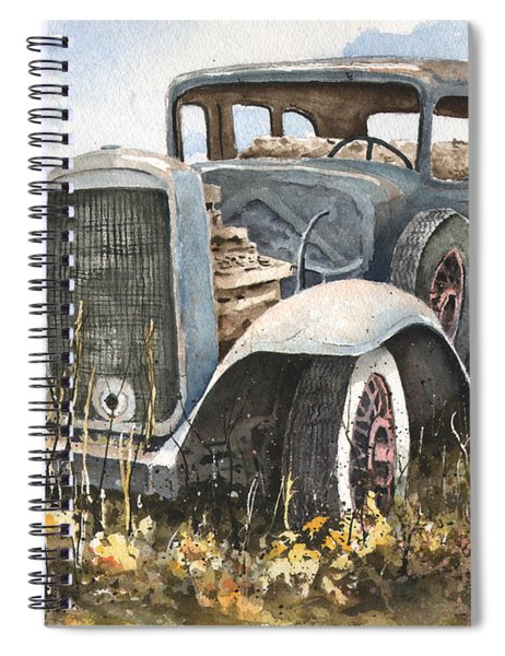 32 Buick Spiral Notebook