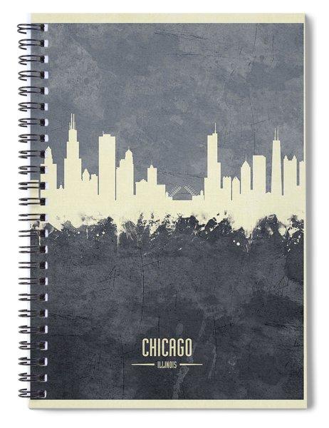 Chicago Illinois Skyline Spiral Notebook