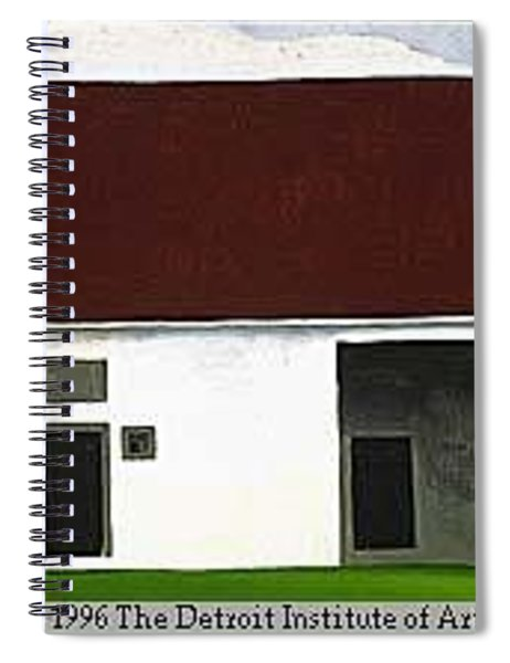 32326 Georgia Okeeeffe Spiral Notebook