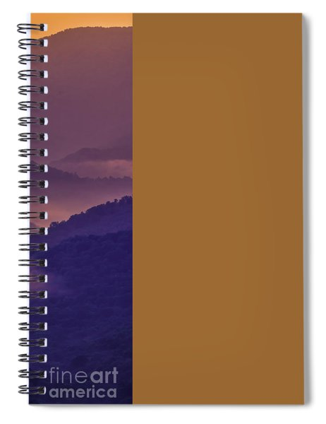 Allegheny Mountain Sunrise Two Spiral Notebook