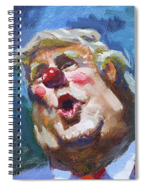 365 Days With This Clown Spiral Notebook