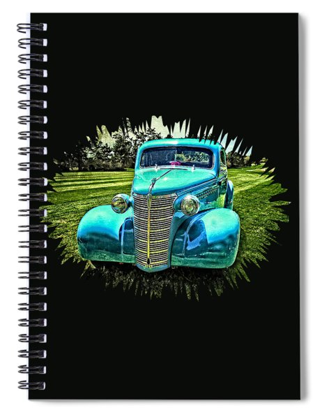 38 Chevy Coupe Spiral Notebook