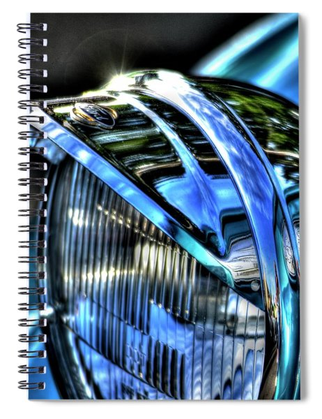 38 Ford Headlamp Spiral Notebook