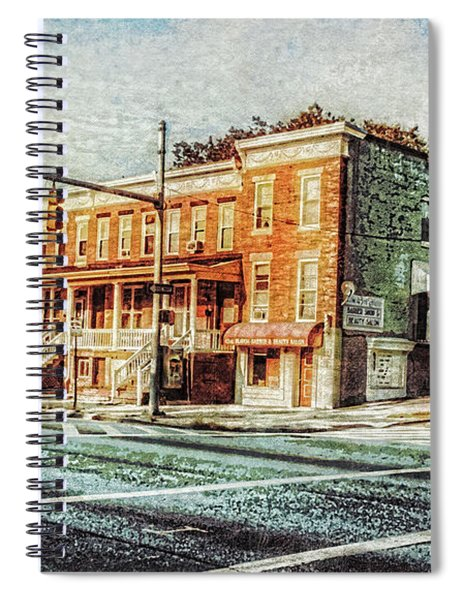 43rd Street And York Road Spiral Notebook
