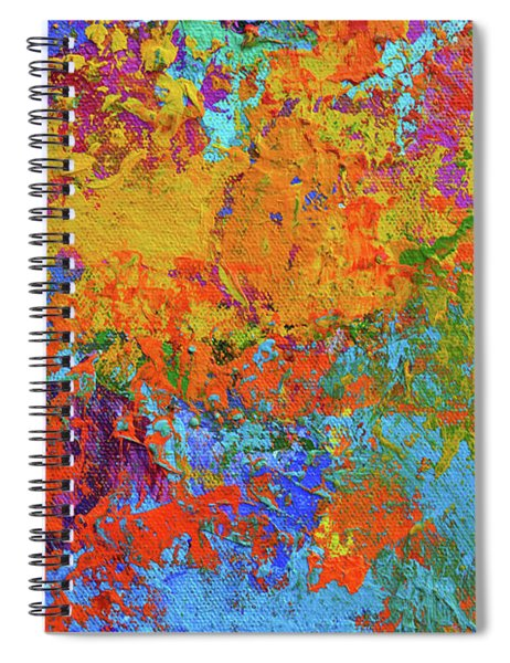 Abstract Painting Modern Art Contemporary Design Spiral Notebook