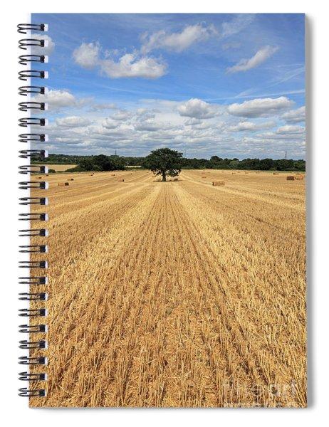 After The Harvest England Spiral Notebook