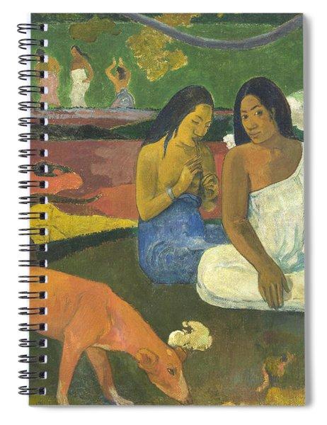 Arearea  Spiral Notebook