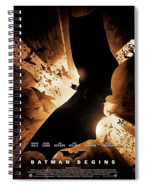 Batman Begins 2005 Spiral Notebook