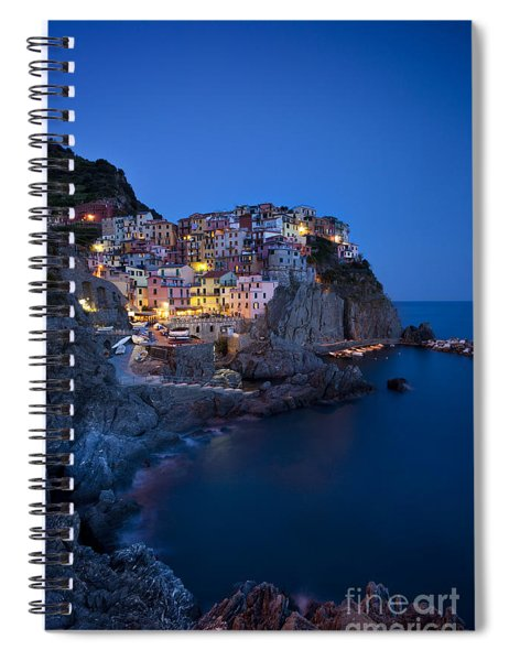 Spiral Notebook featuring the photograph Cinque Terre by Brian Jannsen