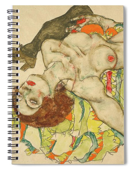 Female Lovers Spiral Notebook