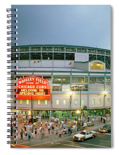 High Angle View Of Tourists Spiral Notebook