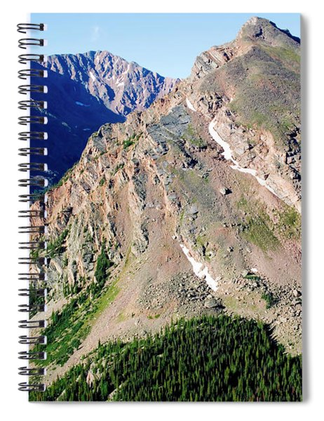 Hiking The Mount Massive Summit Spiral Notebook