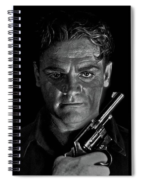 James Cagney - A Study Spiral Notebook