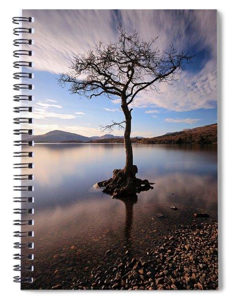 Loch Lomond Tree Spiral Notebook