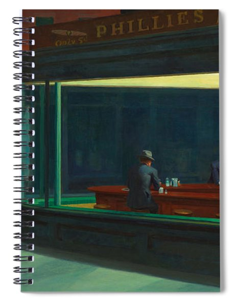 Nighthawks Spiral Notebook