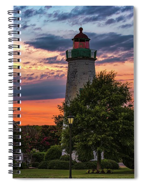 Old Point Comfort Light Spiral Notebook