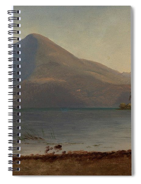 On The Hudson Spiral Notebook