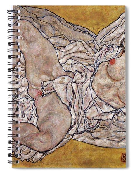 Reclining Woman Spiral Notebook