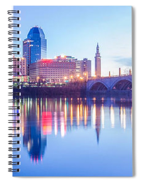 Springfield Massachusetts City Skyline Early Morning Spiral Notebook
