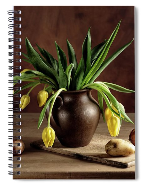 Still Life With Tulips Spiral Notebook