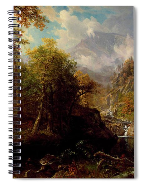 The Emerald Pool Spiral Notebook