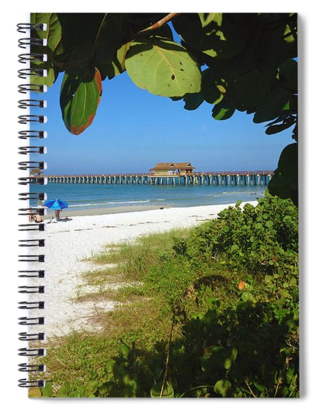 The Historic Naples Pier Spiral Notebook