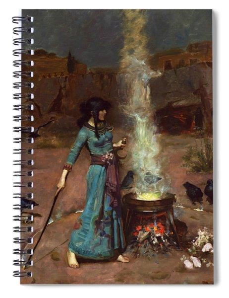 The Magic Circle Spiral Notebook