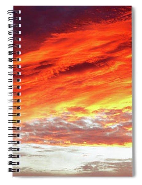 Summer Sky 2 Spiral Notebook
