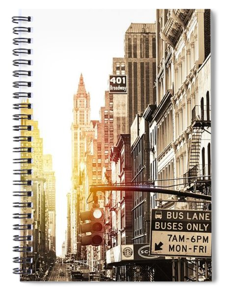 401 Broadway Spiral Notebook