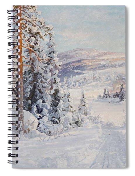 4544691  Carl Brandt   1871-1930    Landscape Spiral Notebook