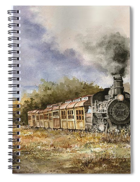 481 From Durango Spiral Notebook