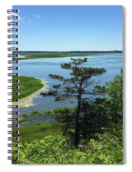 4th Of July At The Seashore Spiral Notebook