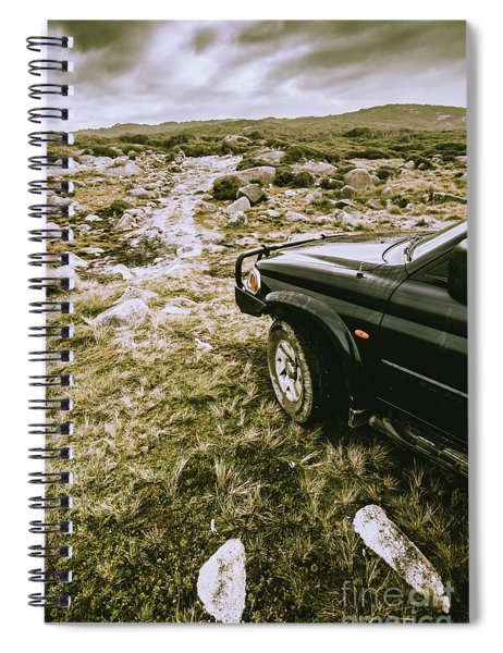 4x4 Tour Tasmania Spiral Notebook