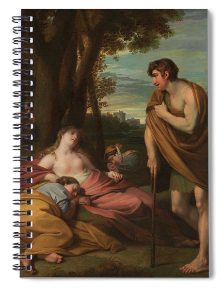 Cymon And Iphigenia Spiral Notebook