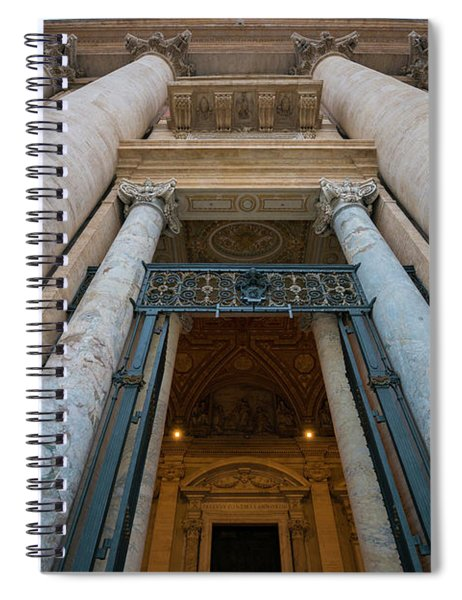 Entrance Spiral Notebook