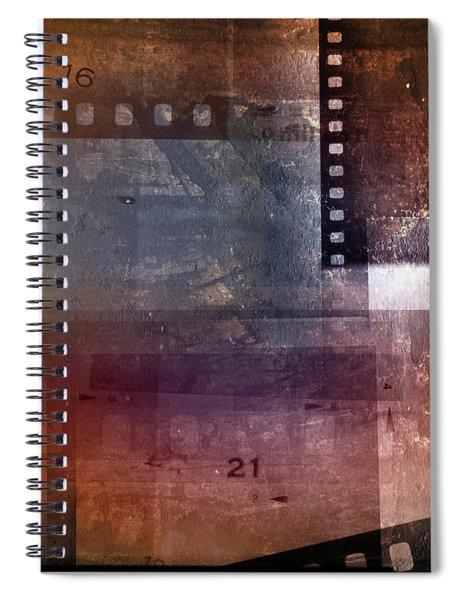 Film Strips 3 Spiral Notebook